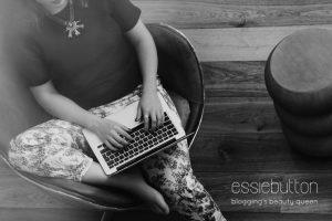 Essie Button Issue 1 - Blogosphere Magazine