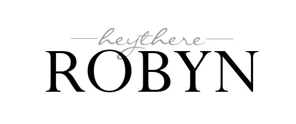 hey there robyn logo