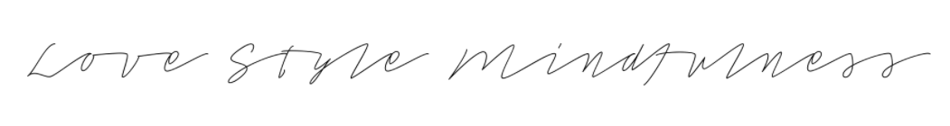 love style mindfulness logo