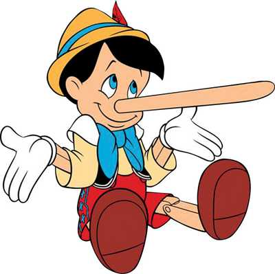 No conseguimos fotos de Montaner pero imaginamos que debe parecerse mucho a Pinocho.