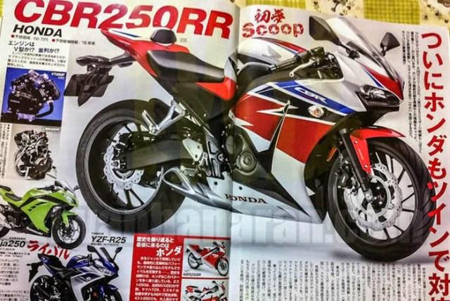 Honda CBR250RR Twin Cylinder - Young Machine Magazine