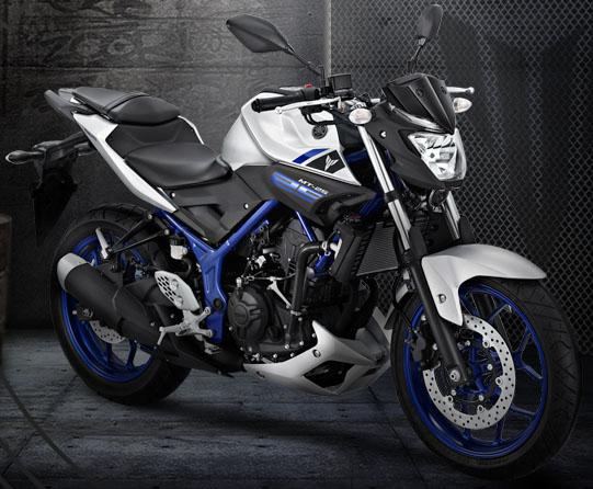 Tampilan Yamaha MT-25