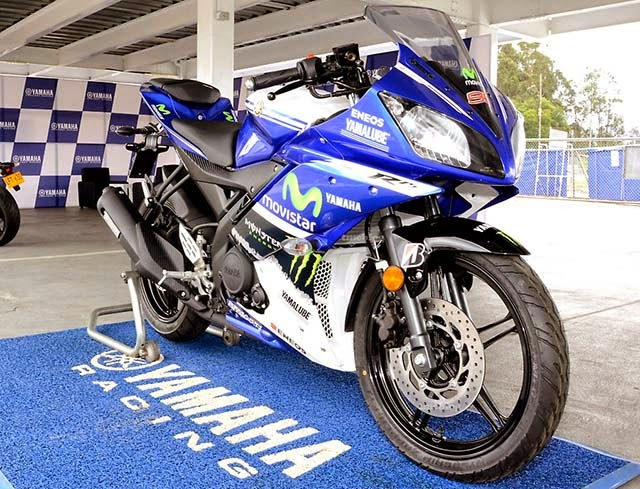 Yamaha R15 Livery Moto GP Movistar