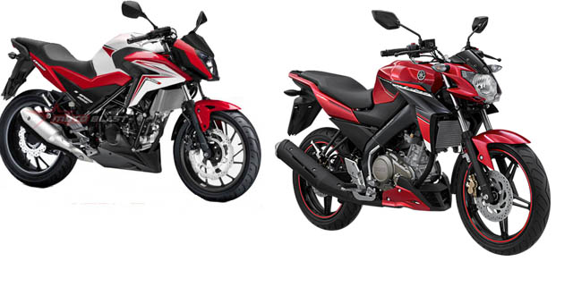 Honda CB150 Facelift vs Yamaha Vixion Advance