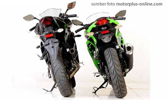 Yamaha R25 vs Ninja 250