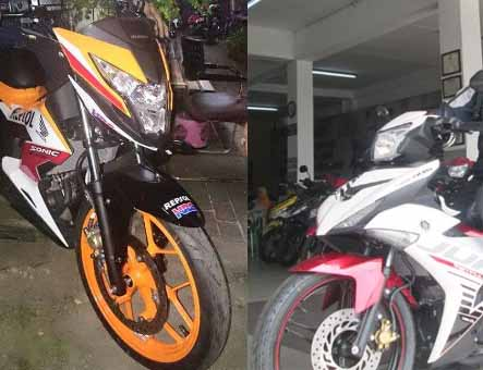 Honda Sonic vs Yamaha Jupiter MX King