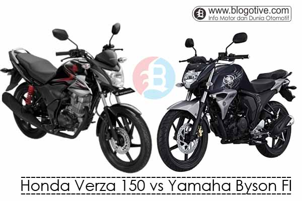 Honda Verza 150 vs Yamaha Byson FI