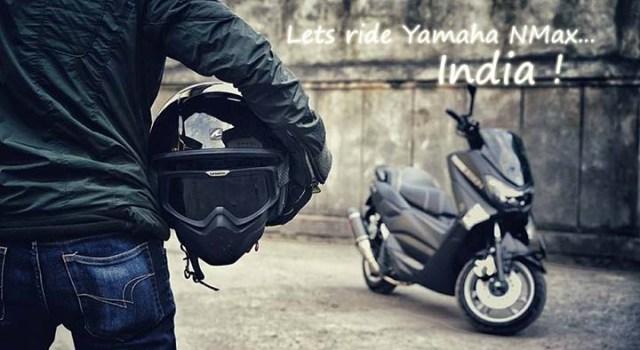 Yamaha NMax Lets ride India