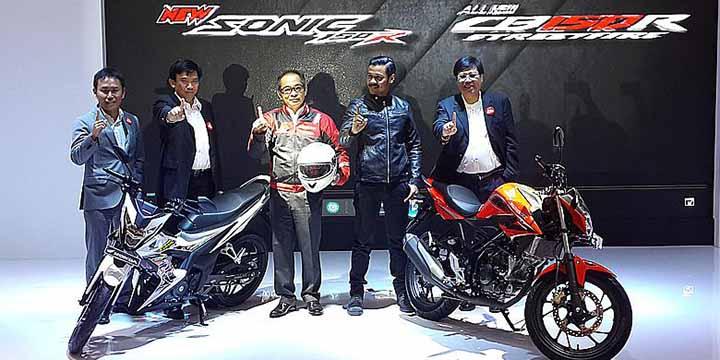 Honda Sonic 150R dan All New CB150R Facelift