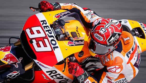 Marc Marquez cornering