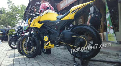 Modifikasi All New Honda CB150R Moge