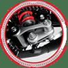 Suspensi belakang Monoshock dengan Pro Link