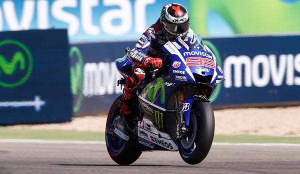 Jorge Lorenzo MotoGP Aragon 2015