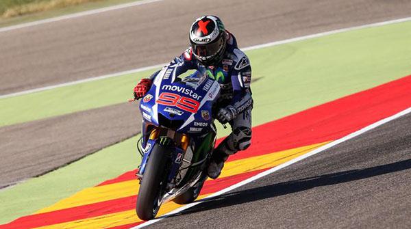 Lorenzo FP2 MotoGP Aragon