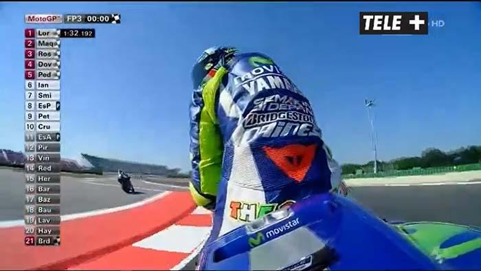 Hasil akhir FP3 MotoGP Italia