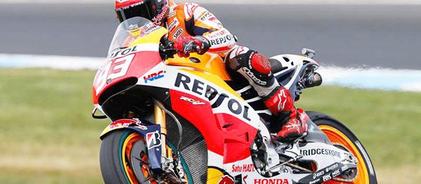 Marc Marquez menangi FP2 MotoGP Philip Island Australia
