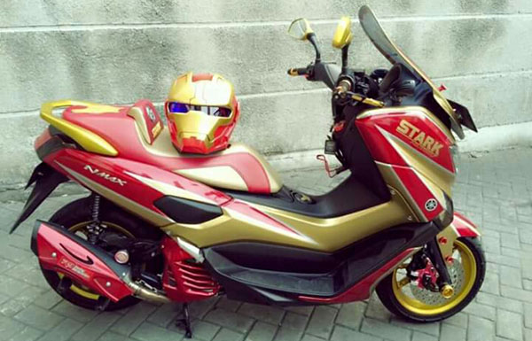 Yamaha NMax Modif Iron Man