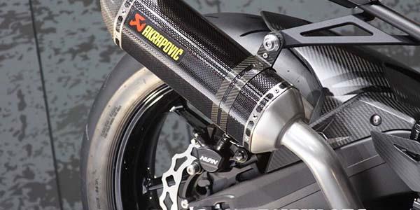 Bagian Swing Arm sebelah kiri CBR250RR Supersport Concept