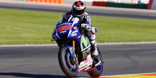 Jorge Lorenzo tercepat di Kualifikasi MotoGP Valencia
