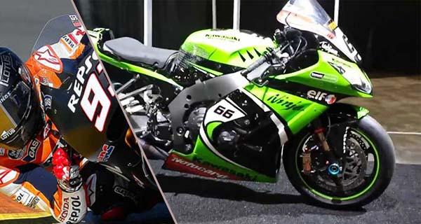 Motor pabrikan menyamai laptime MotoGP