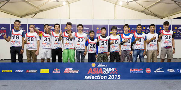 Peserta Asia Talent Cup 2016
