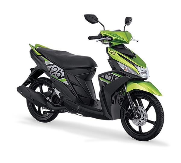 Pilihan Warna Mio M3 warna Active Green