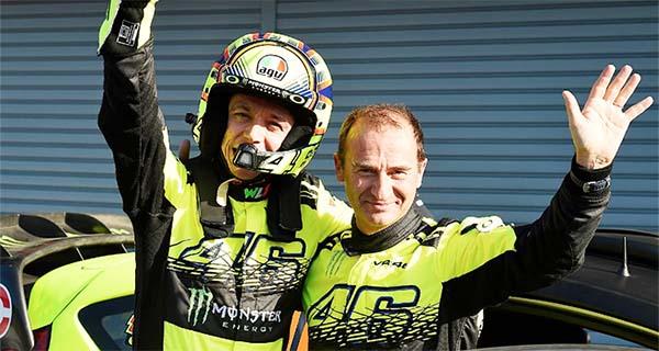 Rossi menankan balapan Rally Monza
