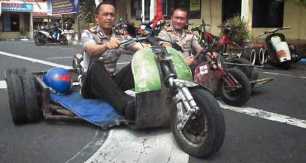 Boleh Modifikasi motor asalkan