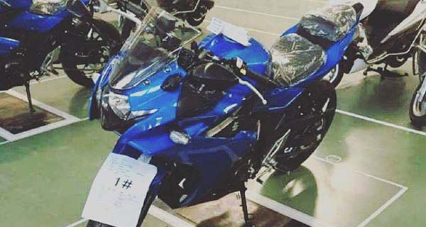 Suzuki GSX-R250 sedang diproduksi di China