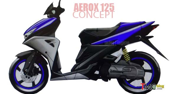 Yamaha Aerox 125, matic yang berani out of the box