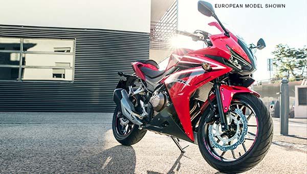 Honda CBR500R sudah didaftarkan