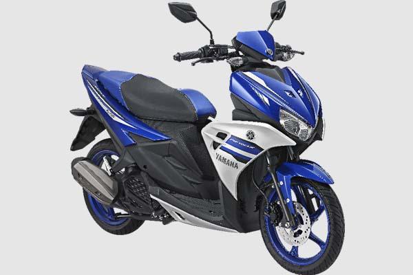 Pilihan Warna Yamaha Aerox 125 LC warna biru