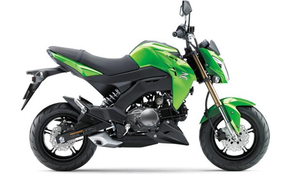 Spesifikasi Kawasaki Z125