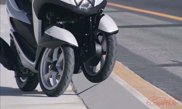Motor Roda tiga, Yamaha Tricity
