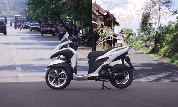 YIMM akan datangkan motor roda tiga, Yamaha Tricity