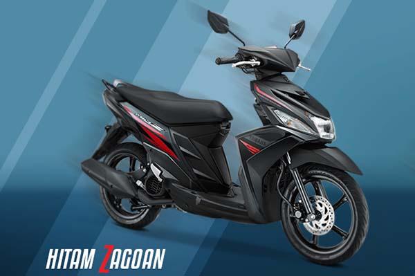 Pilihan warna Yamaha Mio Z warna Hitam