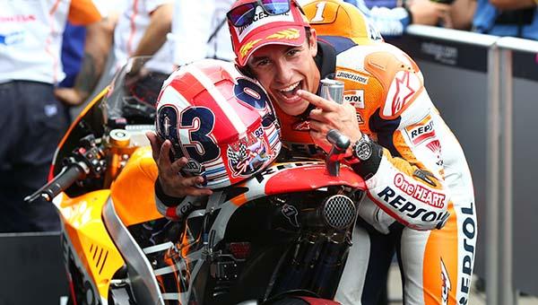 Marc Marquez masih akan bersama Honda di musim depan