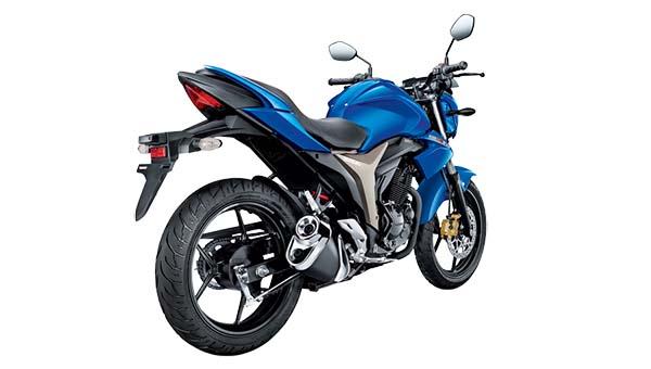 Suzuki Gixxer, Naked Suzuki