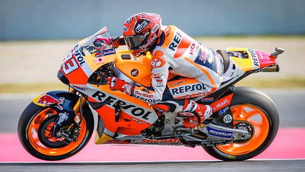 Posisi Start MotoGP Catalunya 2016, Marquez tercepat