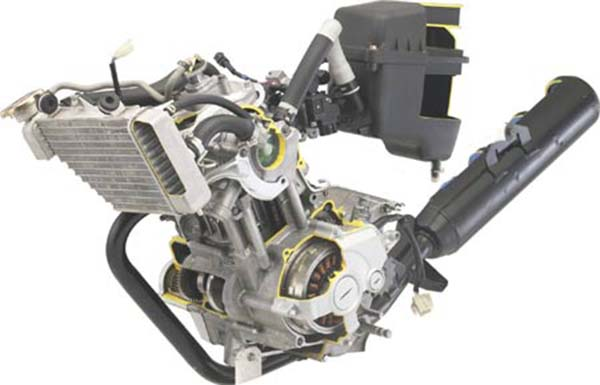 Mesin Yamaha Vixion saat ini