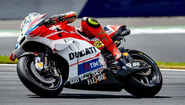 Ducati dominasi test Austria