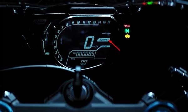3 Riding Mode CBR250RR