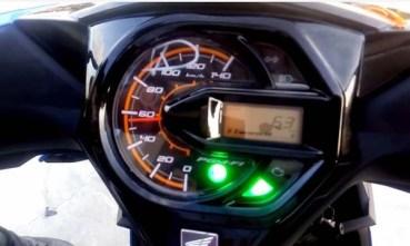 ECO Indikator All New Honda BeAT terang
