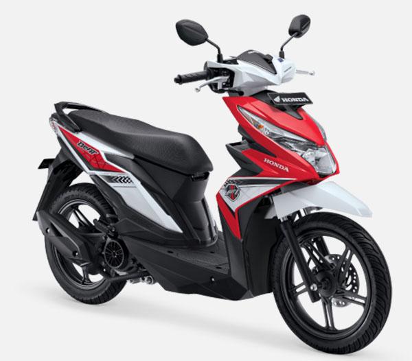 Honda BeAT eSP facelift Funk Red White