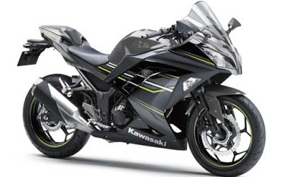 Pilihan Warna Ninja 250 2016 Graphite Gray