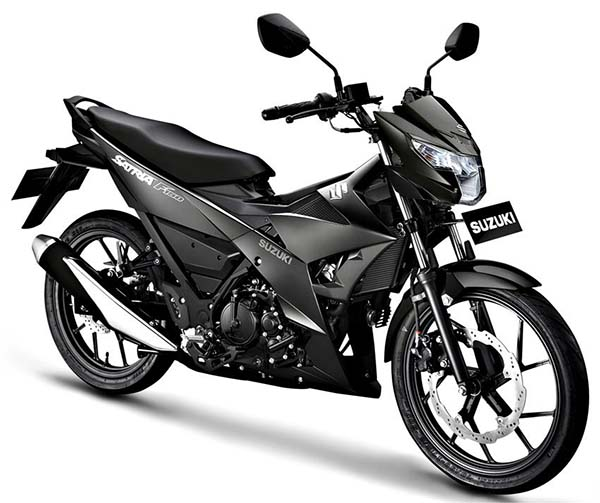 Suzuki Satria Black Predator