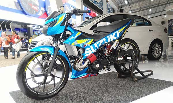 Suzuki Satria turbo charger