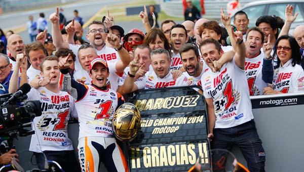 Marc Marquez juara MotoGP