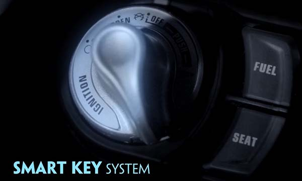 Yamaha NVX pakai Smart Key System