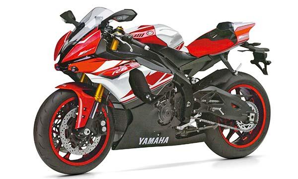 Yamaha M1 dengan grafis R6